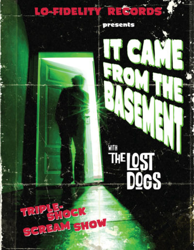 "Lost Dogs ""It Came from the Basement"" DVD"