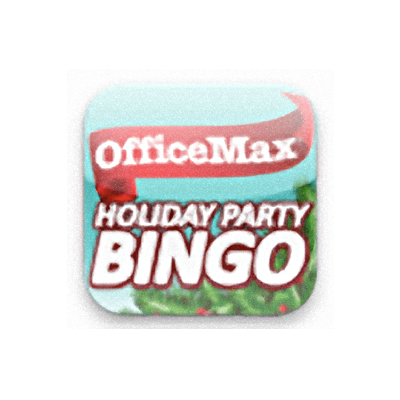 OfficeMax Holiday Party Bingo App